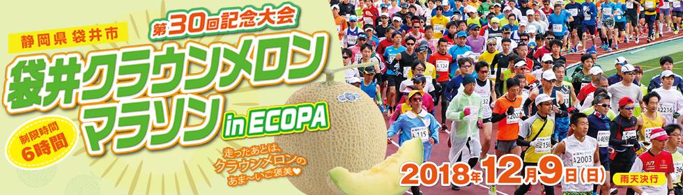 第30回袋井クラウンメロンマラソン in ECOPA【公式】